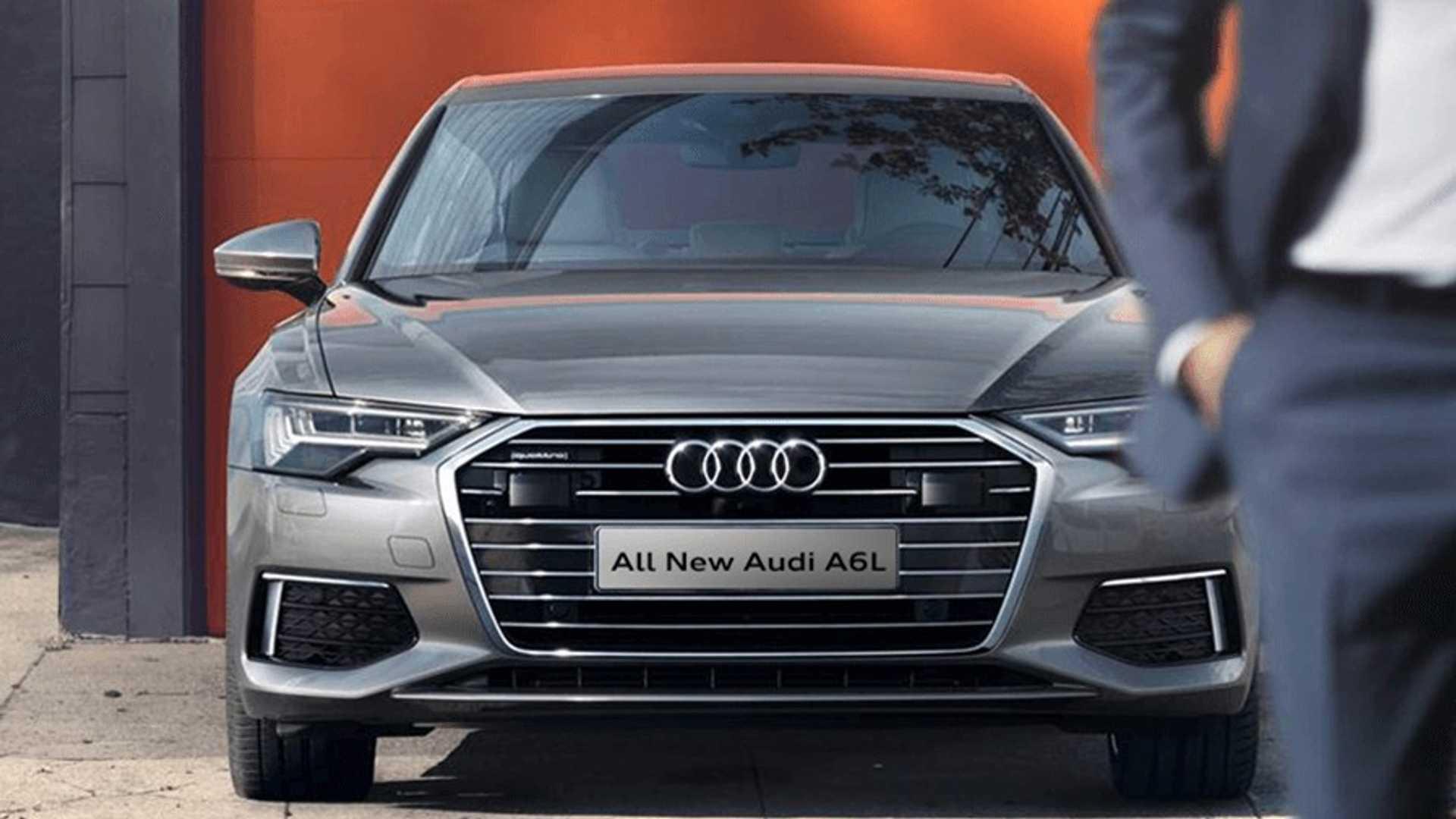 Новый седан Audi A6 получил удлинённую версию 1