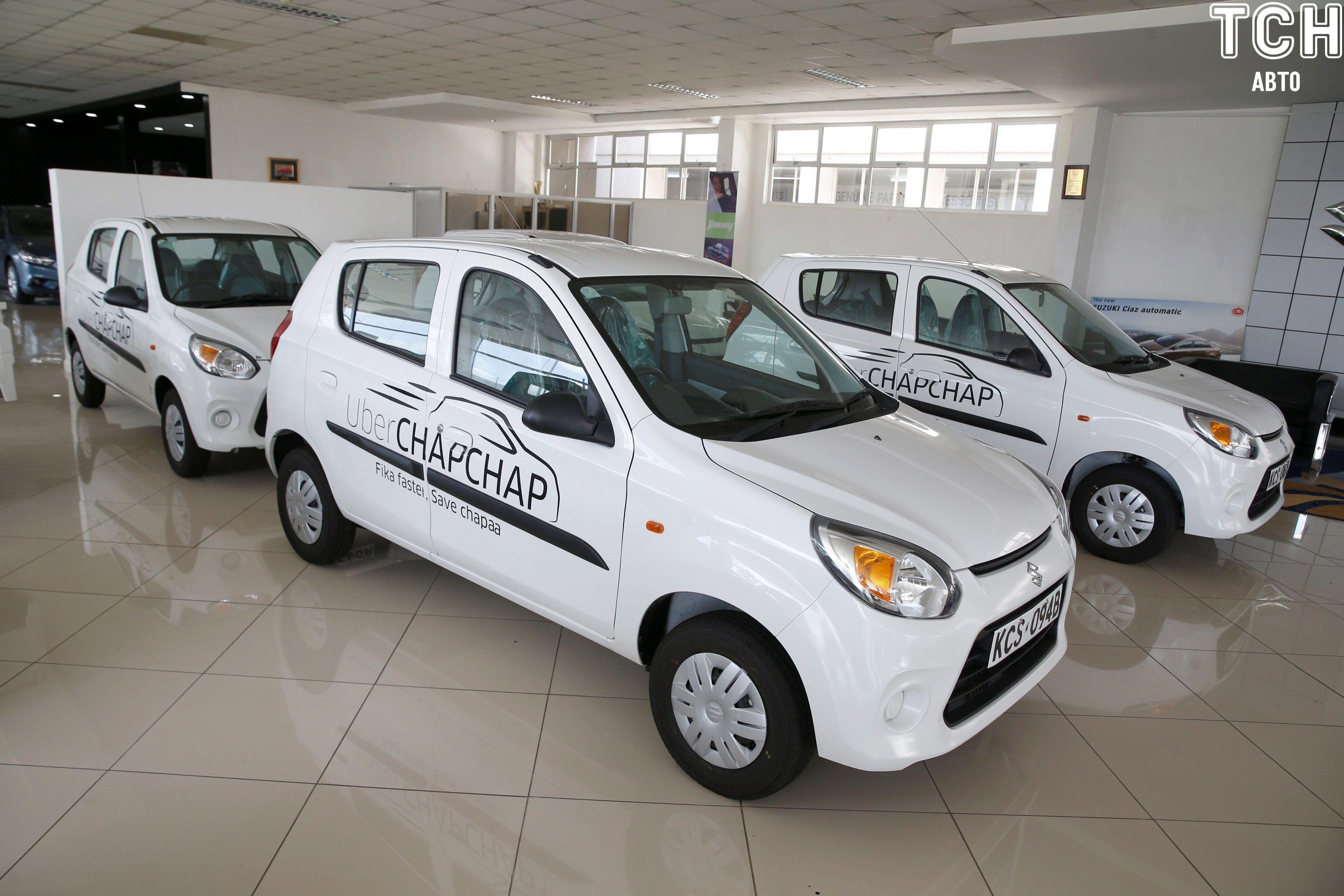 Uber заманивает таксистов в африке бесплатными авто 2