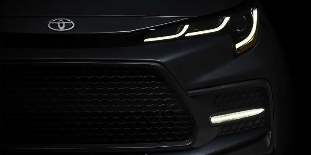 Toyota опубликовала первое изображение новой Corolla 1