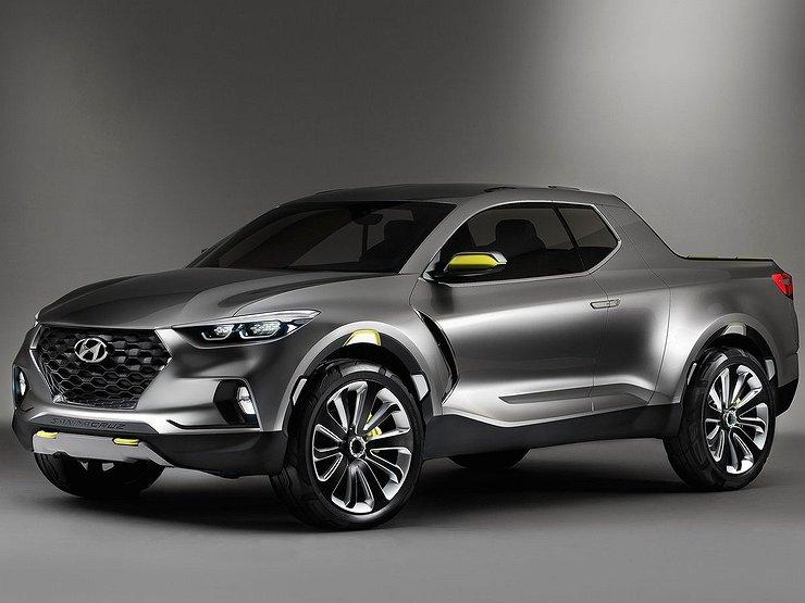 Hyundai построит пикап на базе Tucson новой генерации 1