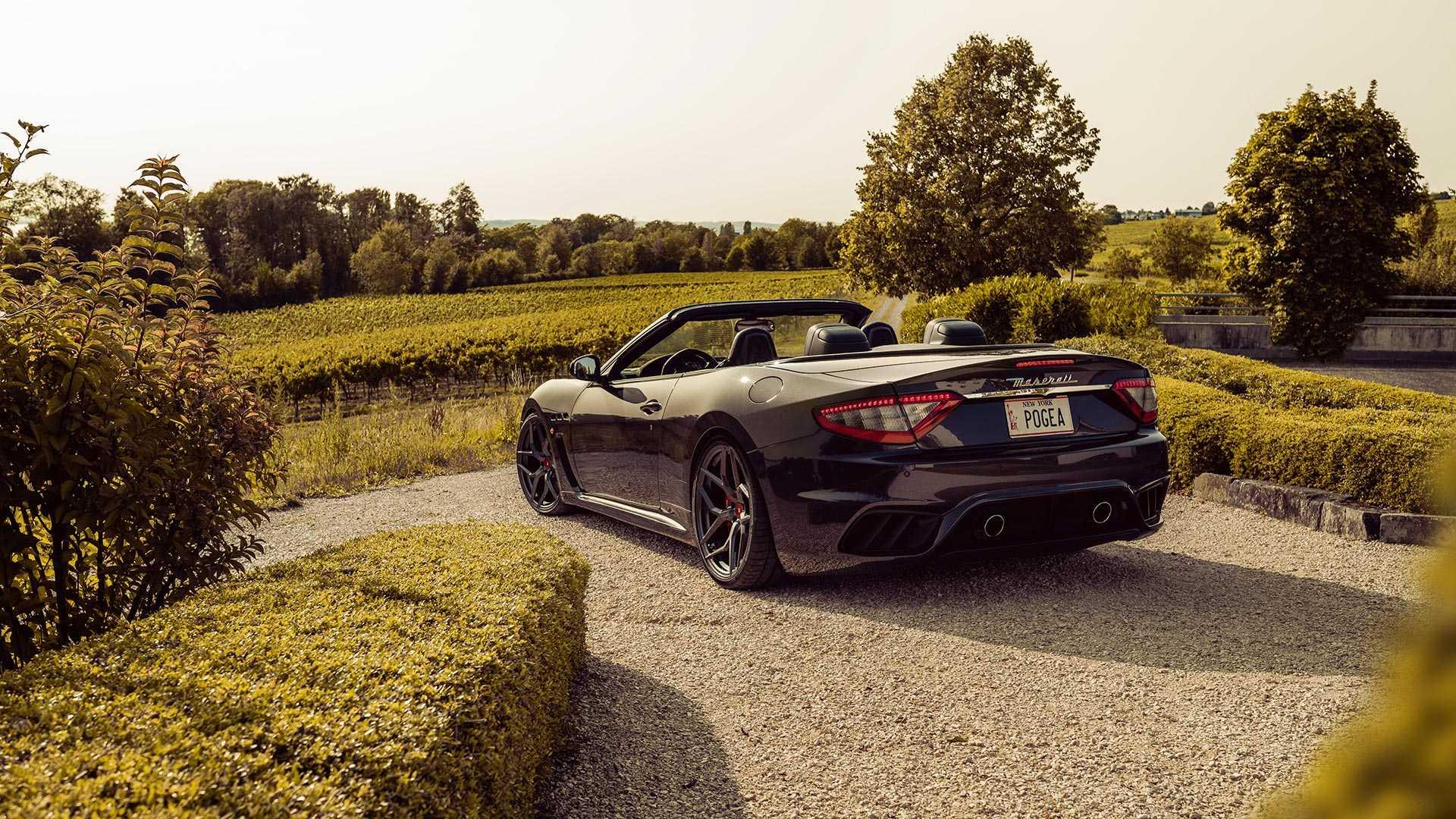 Pogea Racing сделал мощнее Maserati GranCabrio 2