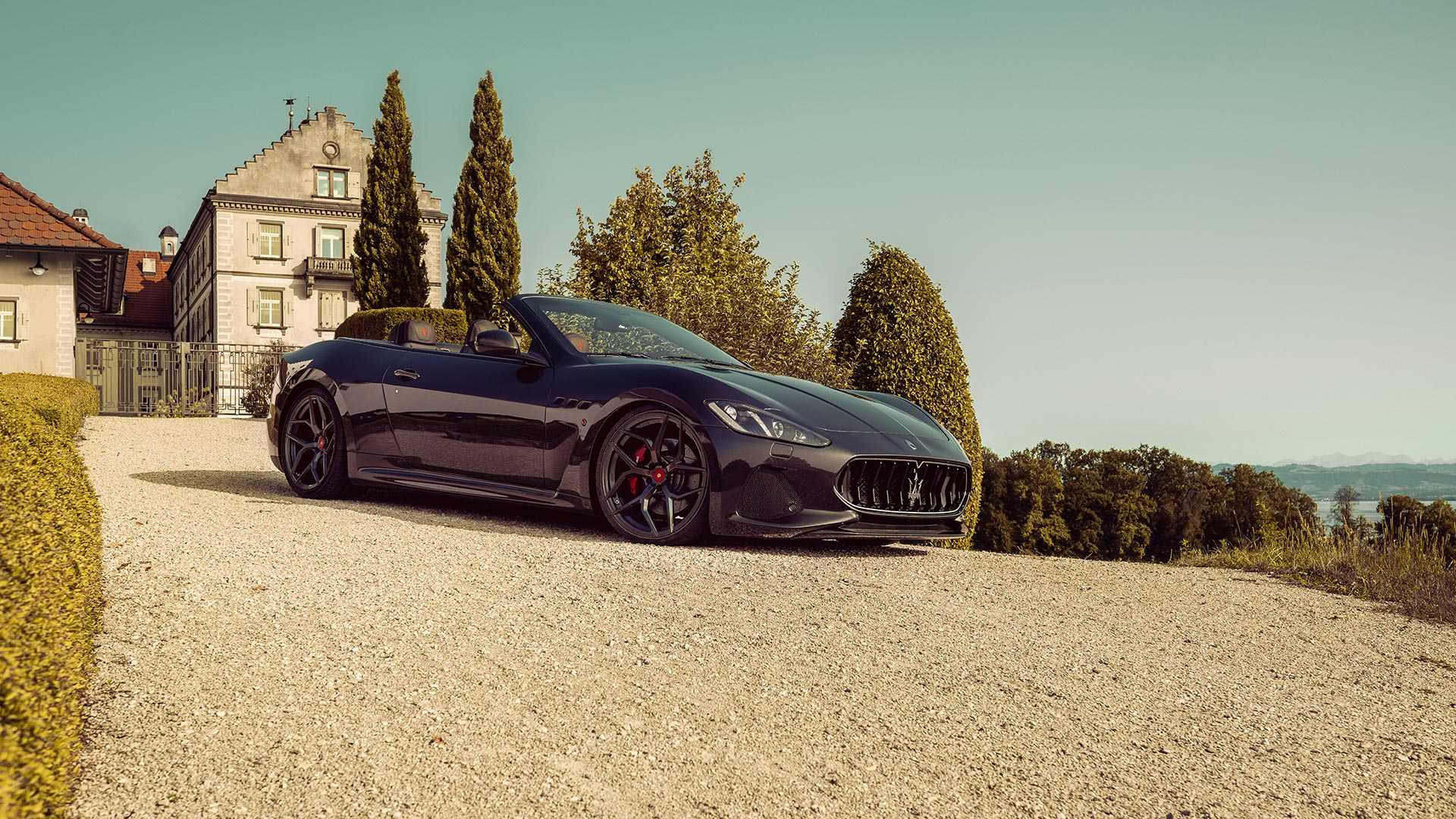 Pogea Racing сделал мощнее Maserati GranCabrio 1