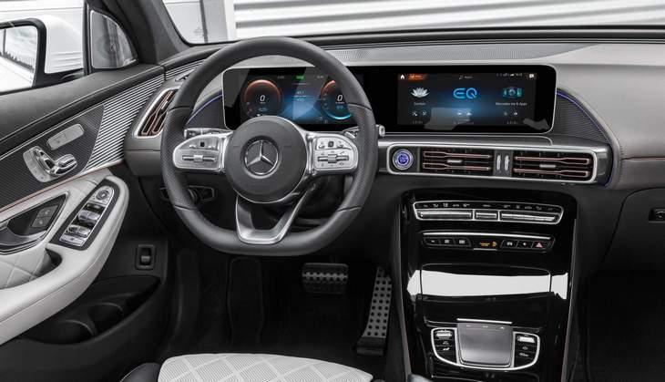 Старт продаж электрического кроссовера Mercedes EQC задерживается 2