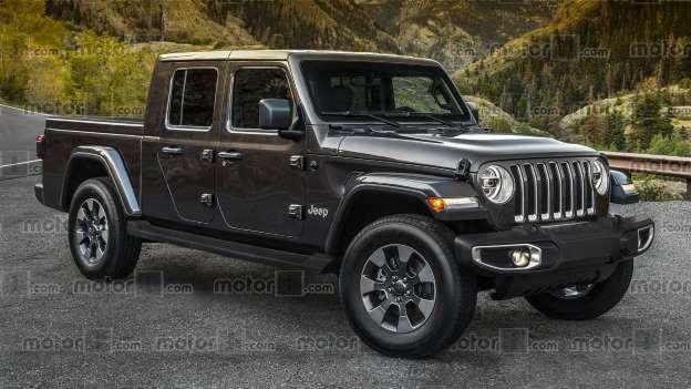 Новый пикап Jeep получит имя Gladiator 1
