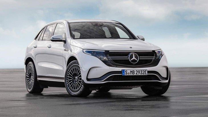 Старт продаж электрического кроссовера Mercedes EQC задерживается 1