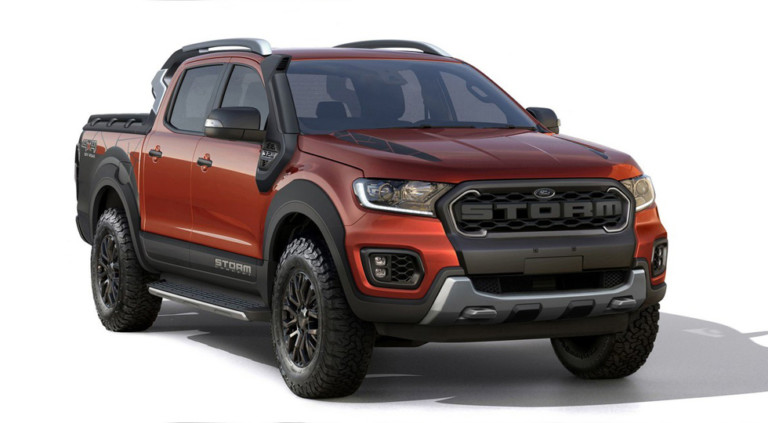 Ford Ranger Storm получил дизайн под «заряженный» Raptor 1