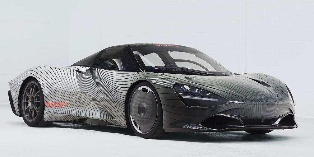 McLaren показал первый тестовый образец своего быстрейшего гиперкара 1