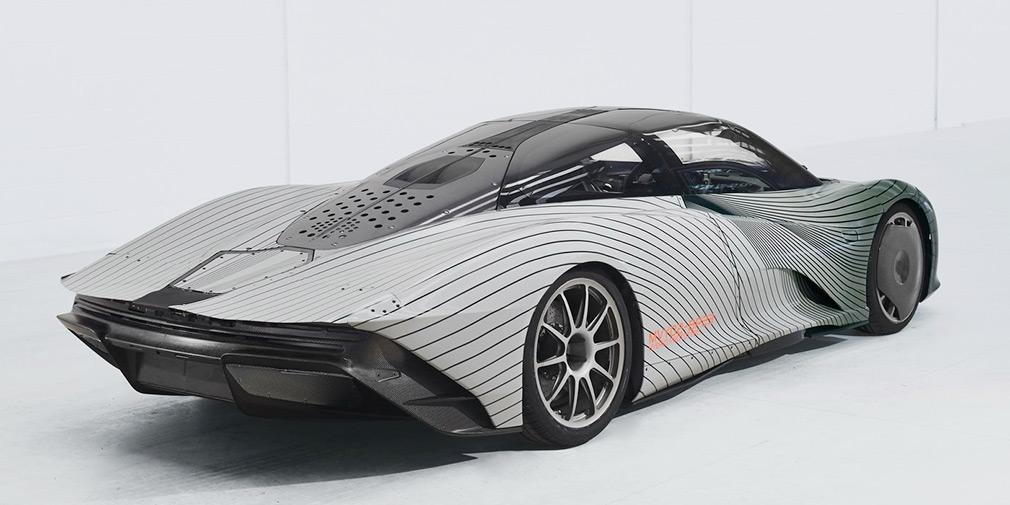 McLaren показал первый тестовый образец своего быстрейшего гиперкара 2