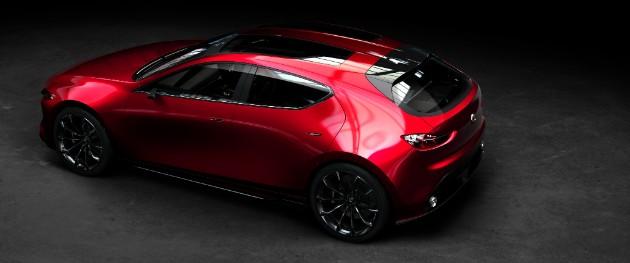 Mazda анонсировала премьеру «тройки» нового поколения 2