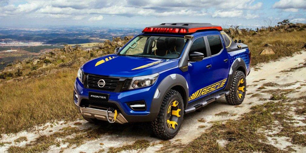 Nissan подготовил пикап Frontier для спасательных служб 1