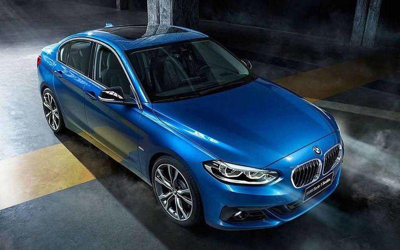 BMW готовит седан 1-й серии для европейского рынка 1