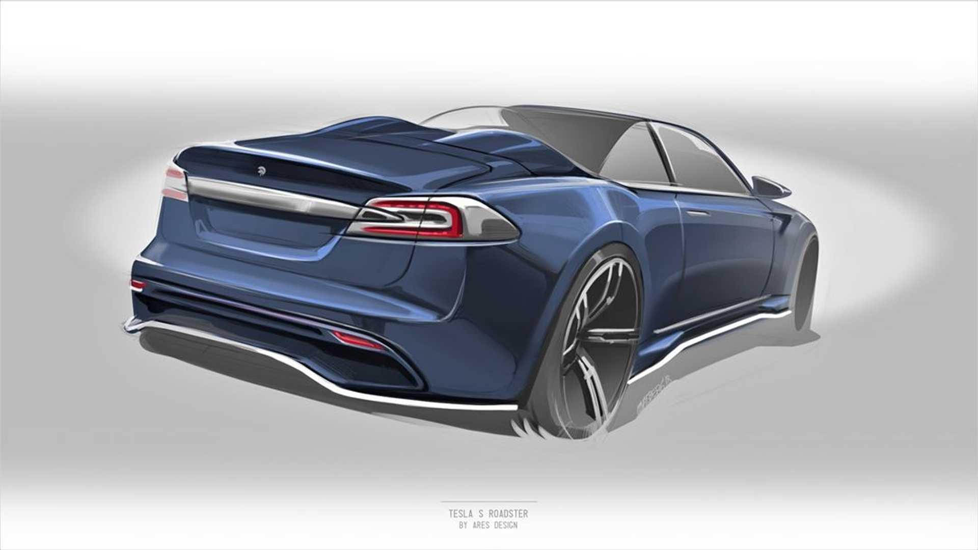 Tesla Model S получит версию Roaster 1