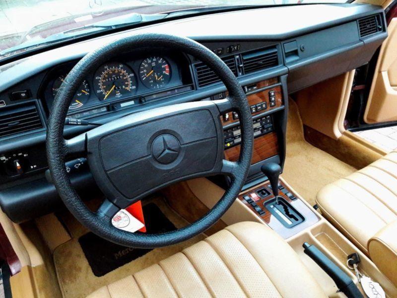 Mercedes 190 W201 без пробега оценили как новый VW Touareg 2