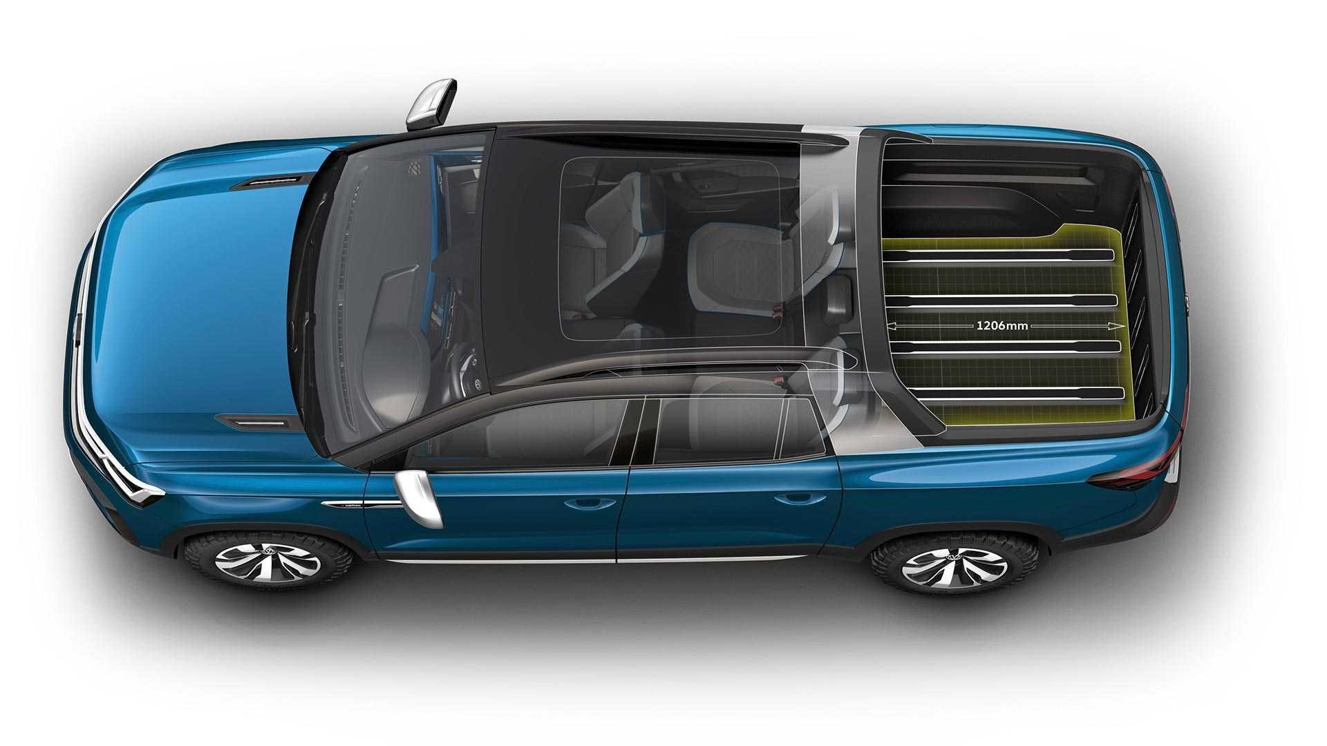 Volkswagen рассекретил пикап-трансформер 2