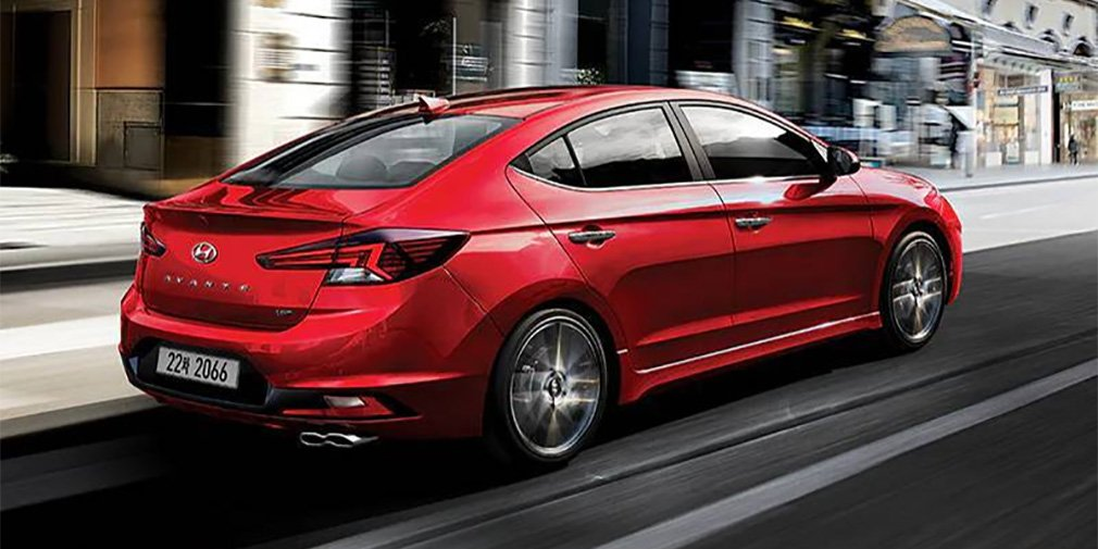 Hyundai представил спортивную версию Elantra 1