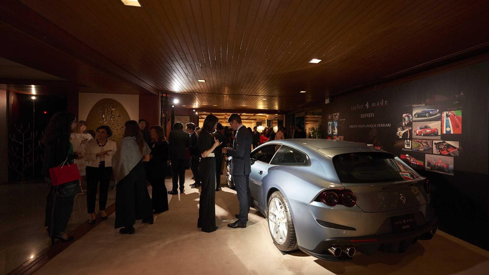 Ferrari представила 9 суперкаров программы Tailor Made в Японии 2