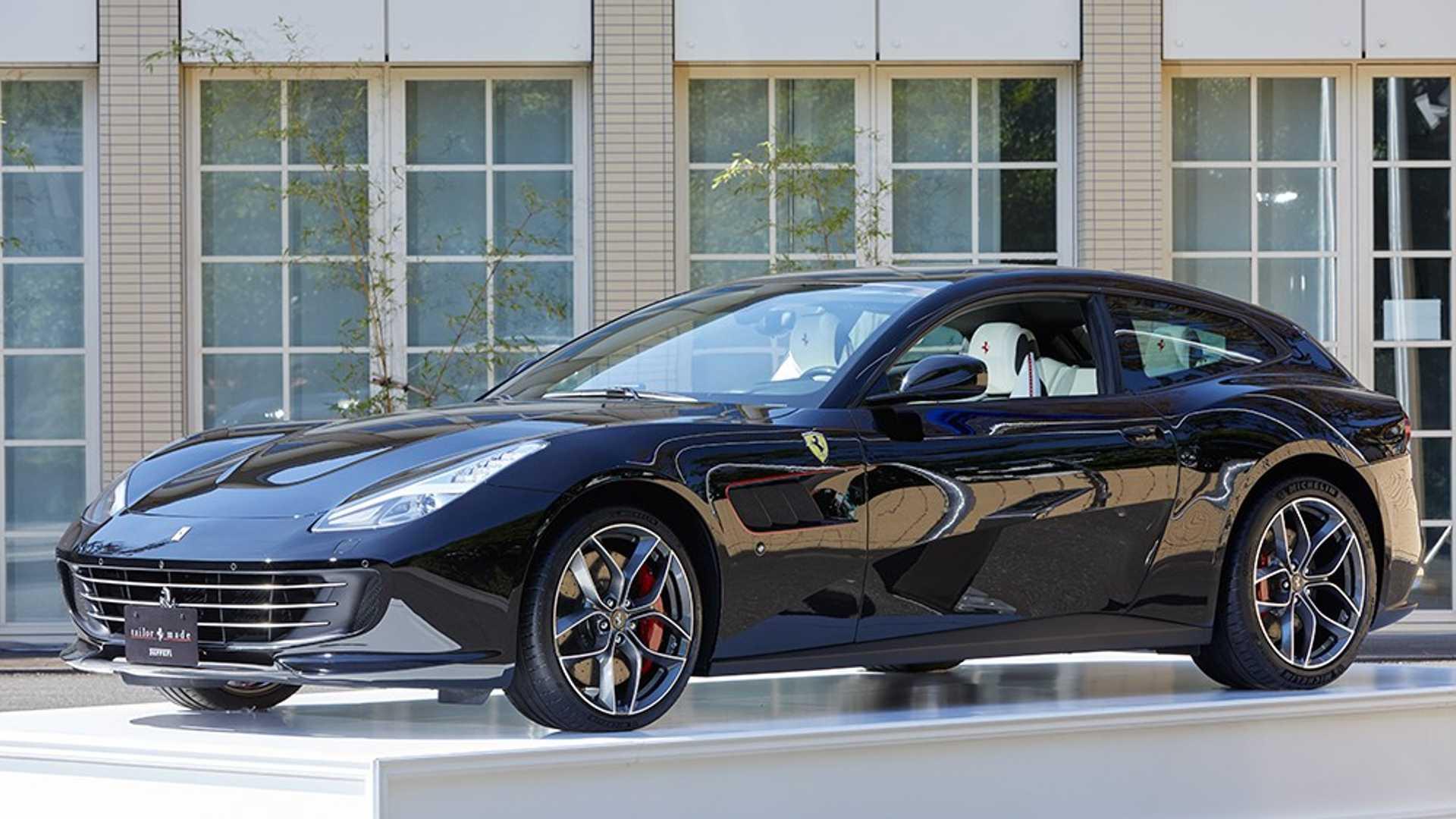 Ferrari представила 9 суперкаров программы Tailor Made в Японии 1