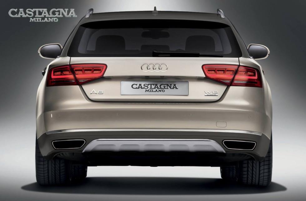 Итальянцы анонсировали кросс-универсал Audi A8 Allroad W12 1