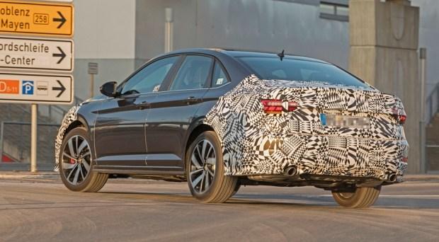 Седан Volkswagen Jetta GLI раскрыл часть своих секретов 3