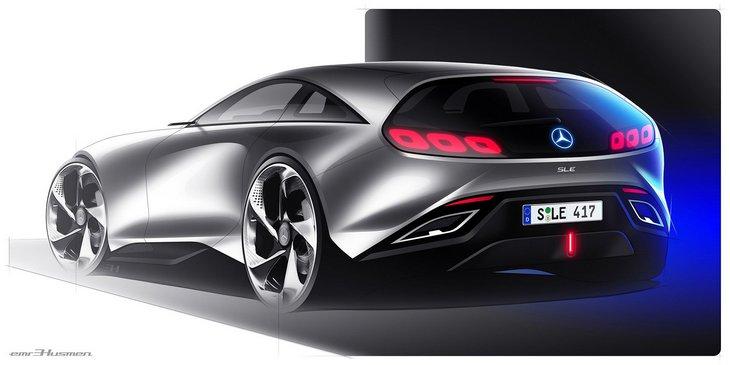 Альтернативный взгляд на будущее Mercedes-Benz SL 2