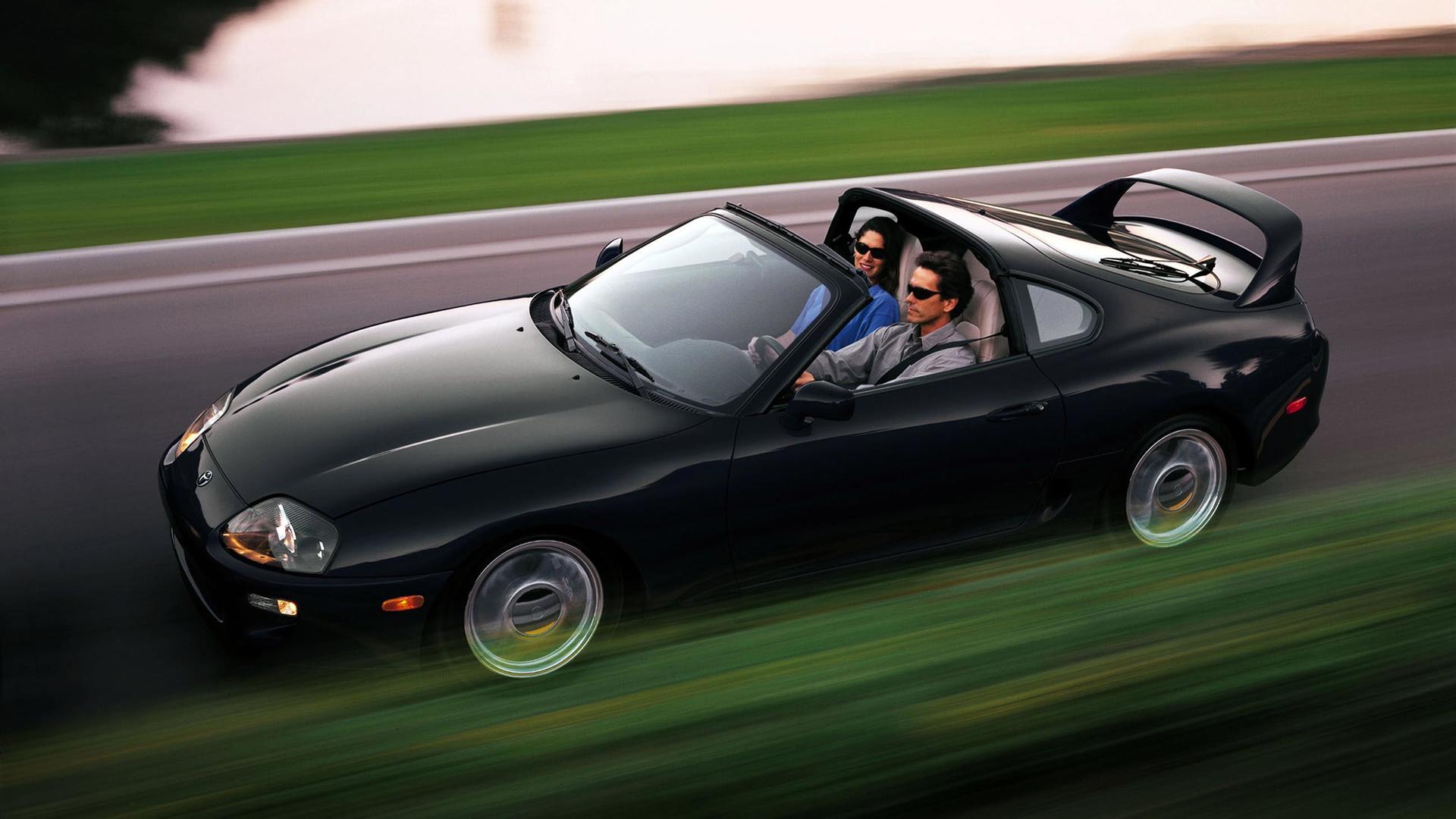 Toyota может сделать кабриолет на базе новой Supra 1
