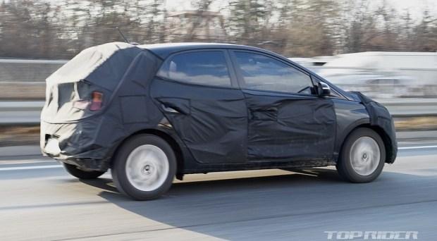 Hyundai тестирует таинственную новинку 1