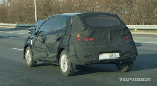 Hyundai тестирует таинственную новинку 2