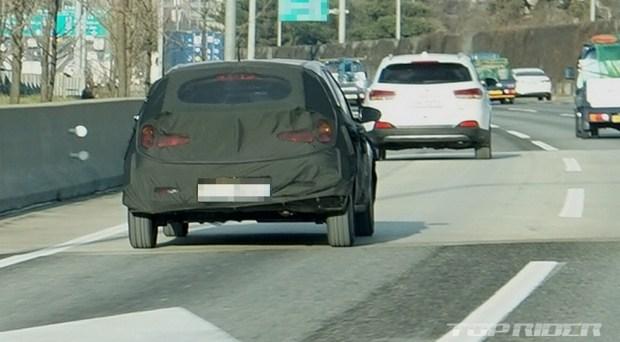Hyundai тестирует таинственную новинку 3