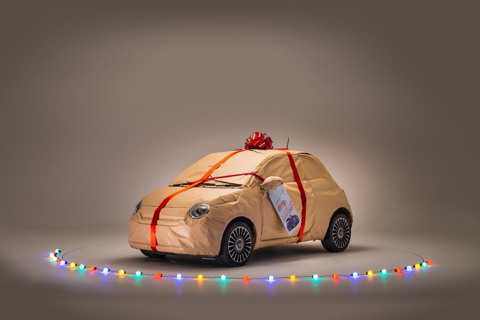 Fiat занялся упаковкой подарков 1