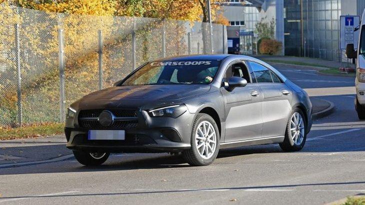 Mercedes подразнил фанатов тизером нового CLA 1