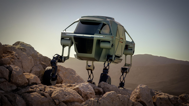 Hyundai презентовал «ходячий» автомобиль 3