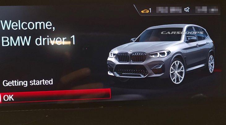 В сеть попали первые фото новой X3 M от BMW 1
