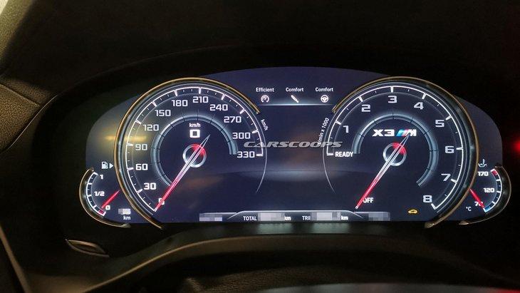 В сеть попали первые фото новой X3 M от BMW 2
