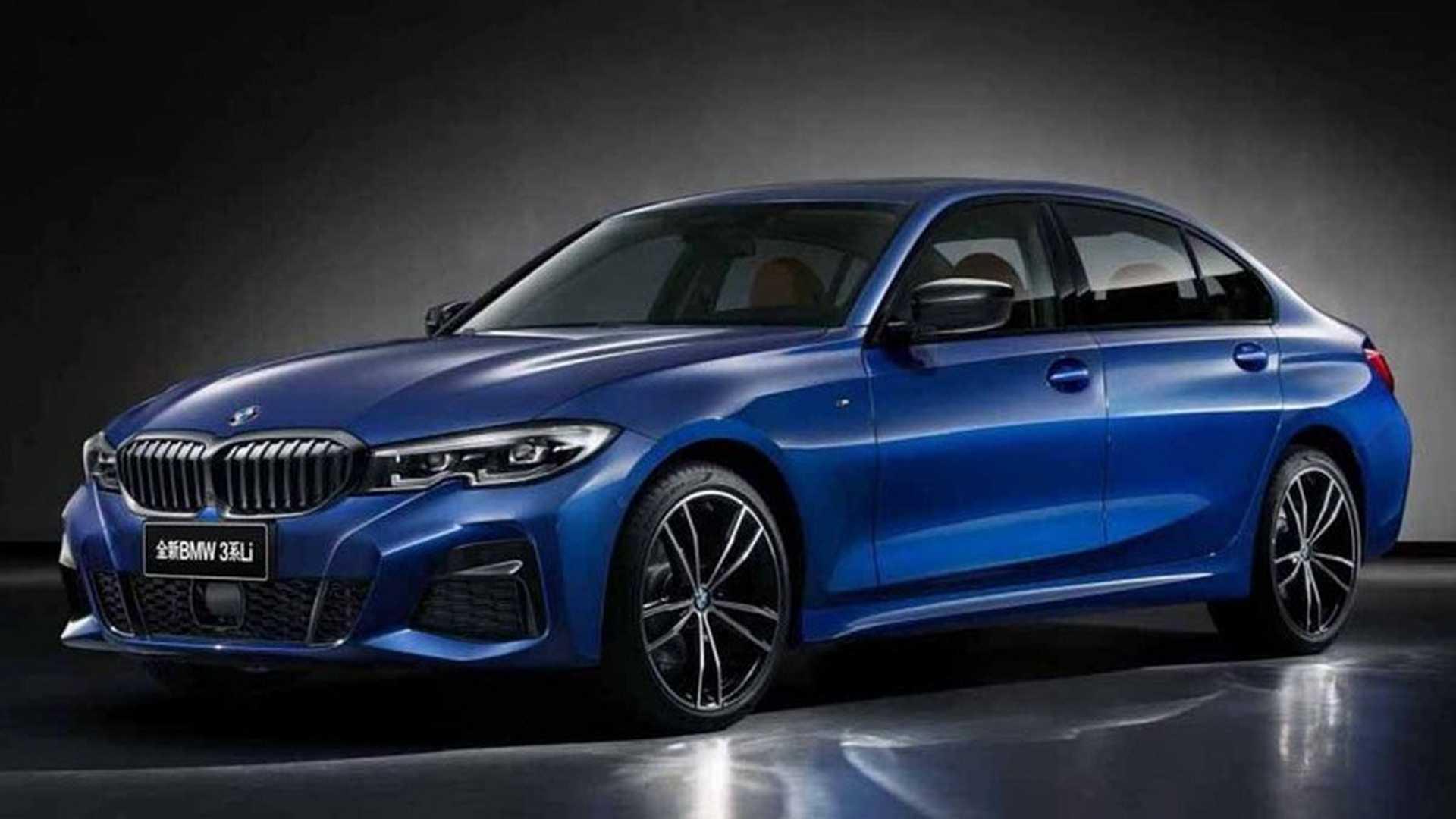 BMW сделала для Китая удлинённую 3 Series 1