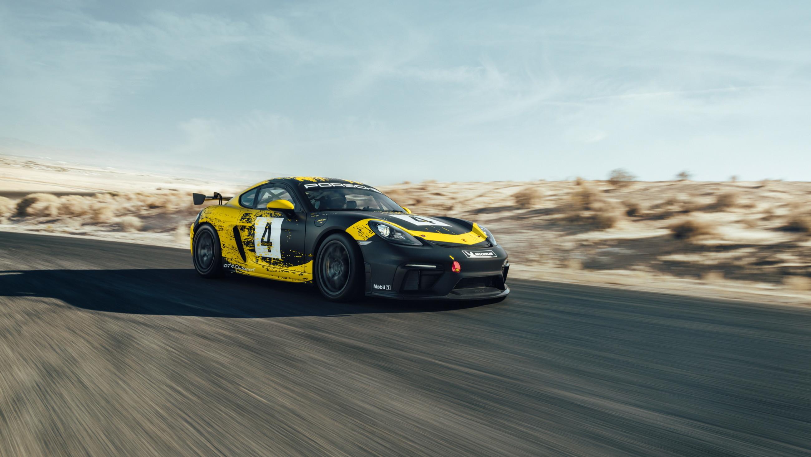 Porsche показал спорткар с кузовными деталями из биоволокна 1