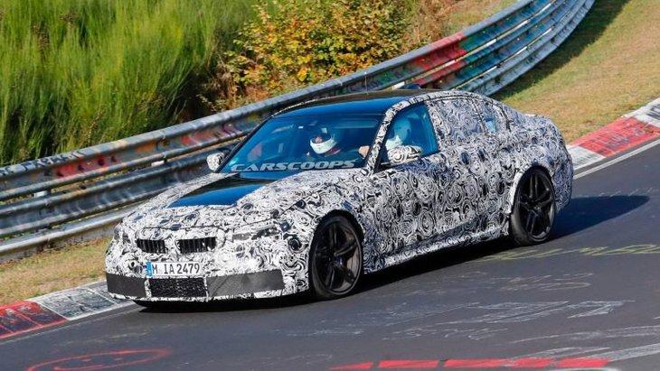 BMW готовит спецверсию новой M3 1