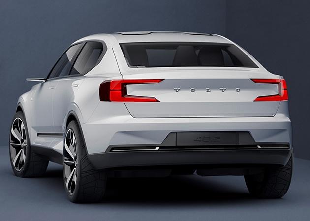 Volvo V40 будет заменен новым кросс-купе 4
