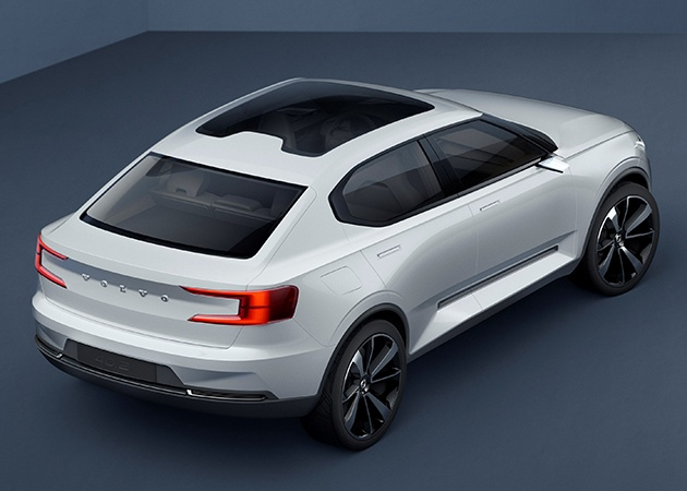 Volvo V40 будет заменен новым кросс-купе 3