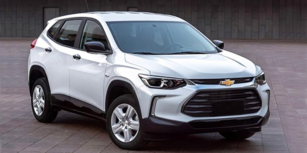 Появились первые фотографии нового кроссовера Chevrolet 1