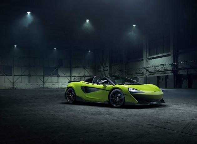 McLaren показал длиннохвостый родстер 600LT Spider 2