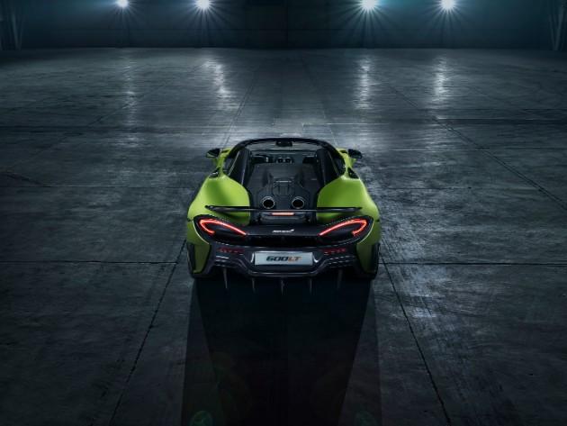 McLaren показал длиннохвостый родстер 600LT Spider 4