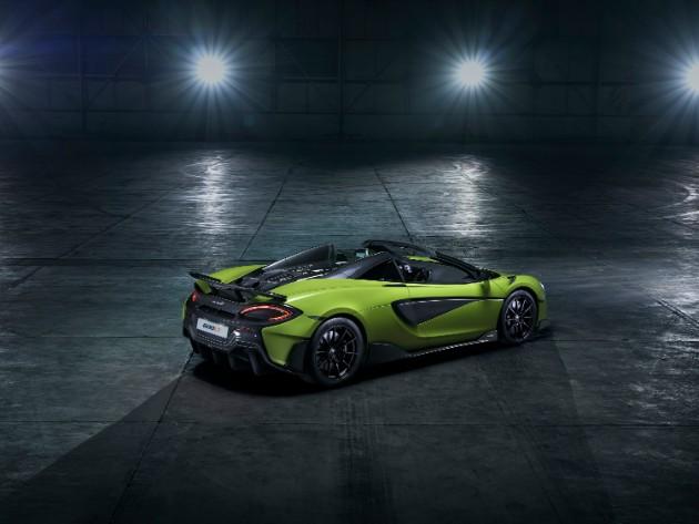 McLaren показал длиннохвостый родстер 600LT Spider 3