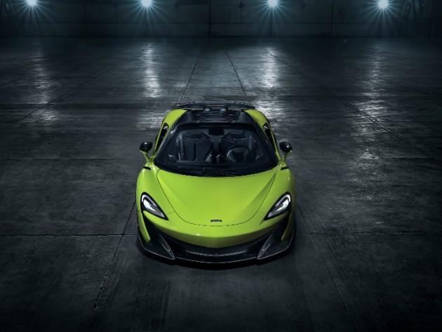 McLaren показал длиннохвостый родстер 600LT Spider 1