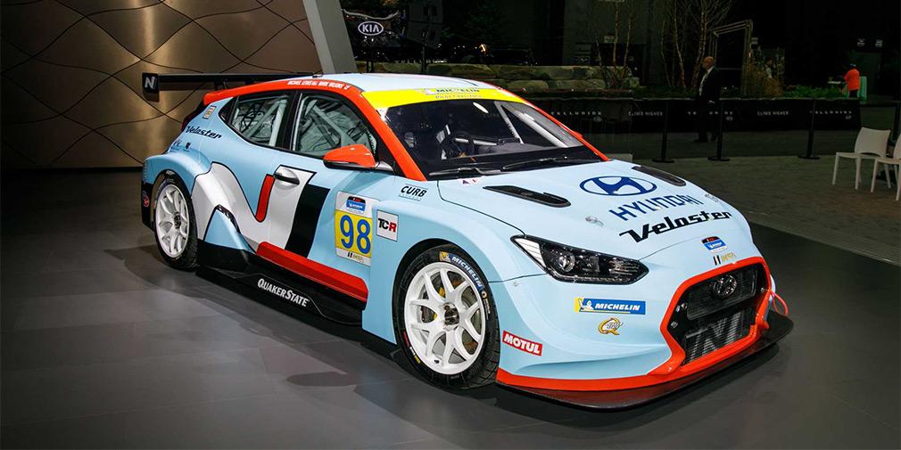 Hyundai Veloster получил 350-сильную версию для гонок 2