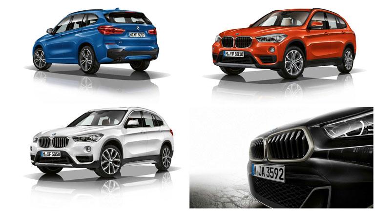 BMW анонсировала рестайлинг кроссоверов BMW X1, BMW X2 и BMW X5 2