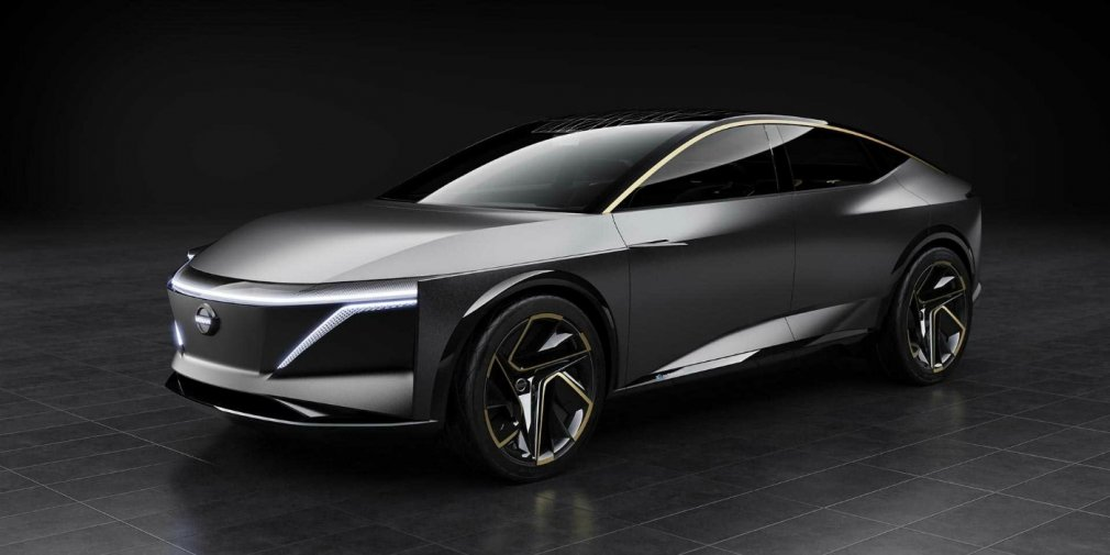 Nissan привез в Детройт электрический вседорожный седан 1