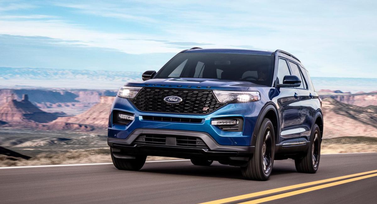 Новый кроссовер Ford Explorer обзавелся версиями ST и Hybrid 1