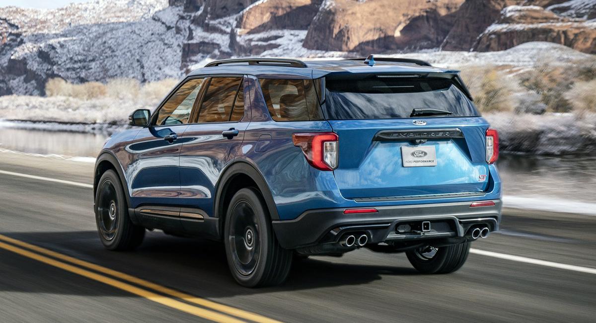 Новый кроссовер Ford Explorer обзавелся версиями ST и Hybrid 3