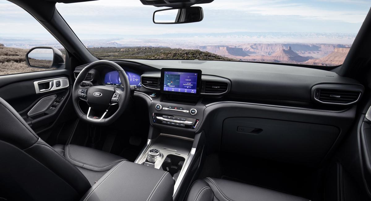 Новый кроссовер Ford Explorer обзавелся версиями ST и Hybrid 4