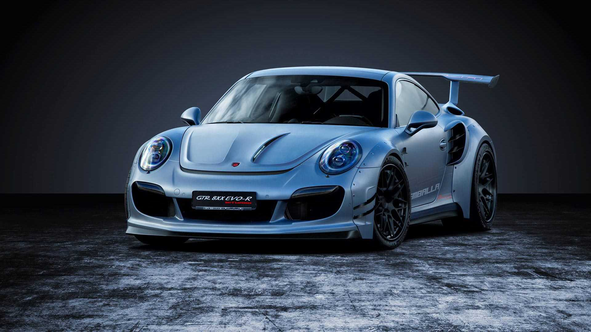 Gemballa представила 807-сильный Porsche 911 Turbo 1